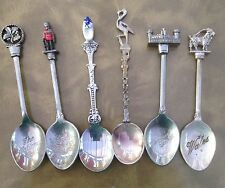 Commemorative Spoons Mainly Silver Plated Free Post