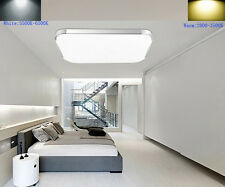 LED Ceiling Light Fixture 24W Modern Square Surface Mount 1600LM LED Down Light