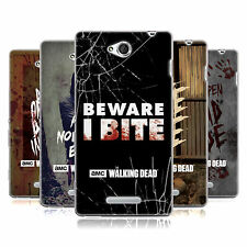 OFFICIAL AMC THE WALKING DEAD TYPOGRAPHY SOFT GEL CASE FOR SONY PHONES 3