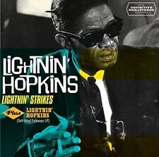 Lightnin' Strikes + Lightnin' Hopkins - Hopkins,Lightnin' CD-JEWEL CASE