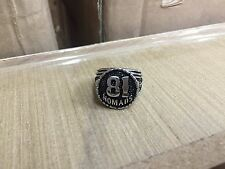 Silver 81 Nomad Ring for Harley Davidson Support 1% ER Hell Angels Biker