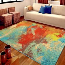 RUGS AREA RUGS CARPET 8x10 AREA RUG MODERN COLORFUL COOL ABSTRACT FLOOR BIG RUGS