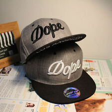 New DOPE Cotton Snapback Men Women Baseball Caps Adjustable Hip Hop Bboy Hats