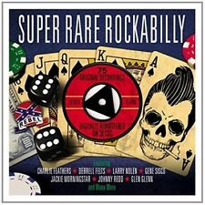 Super Rare Rockabilly - V/A New & Sealed CD-JEWEL CASE Free Shipping