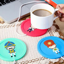 Silicone Heat Warmer Heater Milk Tea Coffee Mug Hot Drinks Beverage Cup 5V USB