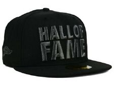 New Era 59Fifty Hall of Fame Chunk Cap Hat $45 Fitted Black