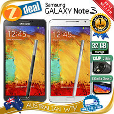 SAMSUNG GALAXY NOTE 3 N9005 4G LTE 16GB 32GB UNLOCKED + OZ WTY (NEW SEALED BOX)