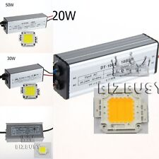 10W/20W/30W/50W High Power LED Driver Suply 10W-100W LED SMD Chip Bulb