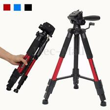 Portable Professional Travel Aluminium Tripod Monopod&Ball Head For DSLR Camera