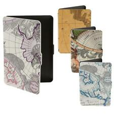 World Map PU Leather Skin Case Shell For E Reader Amazon Kindle Paperwhite 1/2/3