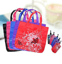 Clips Reusable Bags Tote Shopper Shopping Pouch Shoudler Eco Folding