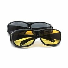 HD Night Vision Care Eye Protect Wrap Driving Sunglasses Glasses
