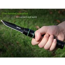 Multi-tool Tactical Knife Cree LED Flashlight Lamp Rechargeable Survival Camping
