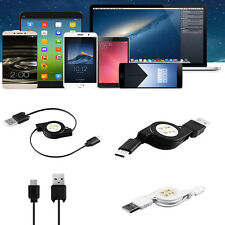 Retractable USB 3.1 Type C to USB 2.0 Male Fast Data Charge Cable For Cell Phone