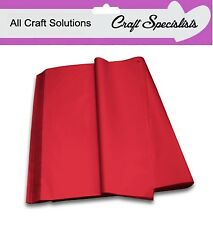 RED ACID FREE LUXURY QUALITY TISSUE PAPER 750mm x 500mm SHEETS