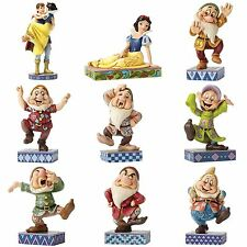 DISNEY TRADITIONS Snow White & the Dwarfs COLLECTABLE Figurines by JIM SHORE