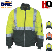 Hi Vis Two Tone Flying Jacket with 3M R/Tape Brand New Clothes Workwear 3862 dnc