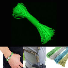 9 Strand 550 Luminous Glow in the Dark Paracord Parachute Cord-25FT 50FT 100FT