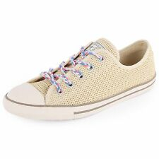 Converse All Star CT Beige Textured Womens Sneakers Trainers Shoes All Sizes~
