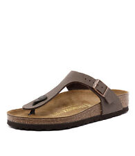 Birkenstock Gizeh Mocca Women Shoes Casuals Sandals Flats