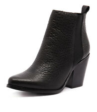 New Sol Sana Toni II Boot Black Women Shoes Casuals Boots Ankle Boots