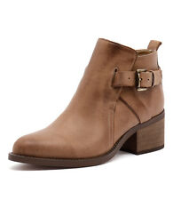 New Tony Bianco Firenze Rust Diesel/Choc Wax Women Shoes Boots Ankle Boots
