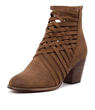 New Therapy Canyon Tan Women Shoes Casuals Boots Ankle Boots