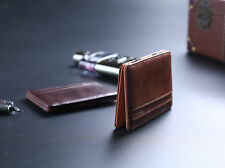 Mens Magic Wallet Leather Slim Money Clip Credit Card Holder ID Business Hot HYH