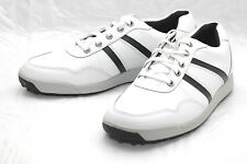 New FOOTJOY Golf CONTOUR CASUAL Mens SIZE 7 WHITE & BLACK FJ SHOES 54363