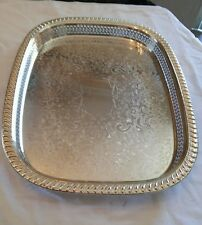 """Silver plate TOWLE 3621 Tray 18""""×14"""""""