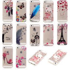 Transparent Soft TPU Rubber Case for Samsung iPhone Huawei Phone Back Cover Skin