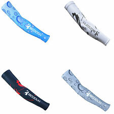 NEW Thin Cycling Bicycle Sport Protective Sunscreen Oversleeves Arm Multi-color