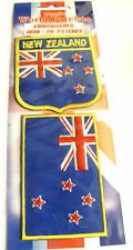 2 Classic World Embroidered Iron On Patches New Zealand 2 Patches Free Delivery