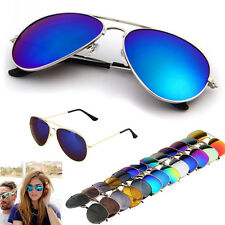 Fashion Men Women Unisex Vintage Retro Mirror Lens Sunglasses Glasses New