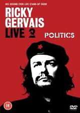 RICKY GERVAIS LIVE - POLITICS - DISC ONLY  (N16)   {DVD}