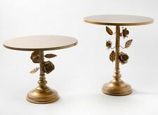 Wedding Party Round Cake Stand Rose Vine Cake Stand Set of 2 Display