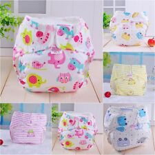 Washable Baby Adjustable Reusable Cloth Soft Diaper Cover Pocket Nappy Wrap