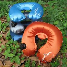 Portable Waterproof Inflatable Air Cushion U Shape Pillow Travel Camping Float