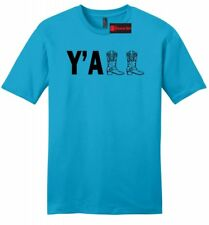 Yall Soft Mens T Shirt Cute Country Western Tee Cowboy Boots Redneck Gift Z2
