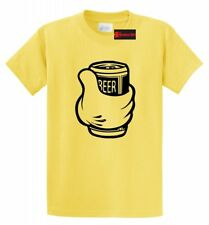 Thumbs Up Beer Funny T Shirt Drinking Beer Party Tee Alcohol Love Beer Tee