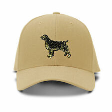 Retriever Dog Embroidery Embroidered Adjustable Hat Baseball Cap