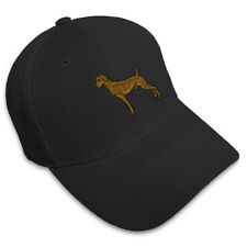 Weimaraner Dog Embroidery Embroidered Adjustable Hat Baseball Cap
