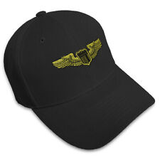Air Force Pilot Badge Embroidery Embroidered Adjustable Hat Baseball Cap