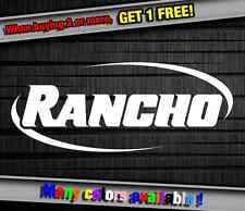 Car Sponsor Rancho Suspension Funny Vinyl Sticker Decal Graphic Car Truck Wall