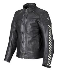 Triumph Mens Cafe Racer Leather Jacket