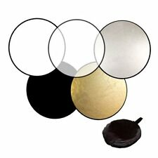 60cm 80cm 5in1 Photography Studio Light Mulit Collapsible disc Reflector MG