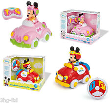 Disney Minnie or Mickey Mouse My First Remote Control Baby Car Toy 12+ Months