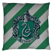 Harry Potter Slytherin Crest Officially Licensed Decorative Throw Pillow