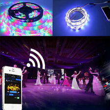 5M 150LED WS2811 WS2811S 5050 Musical Voice Control SMD RGB Flexible Strip Light