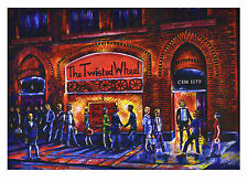 Northern Soul; Northern Soul Art; Neil Thompson paintings, The Wheel